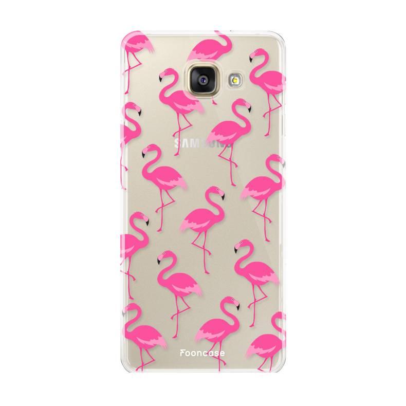 Samsung Samsung Galaxy A3 2017 Handyhülle - Flamingo