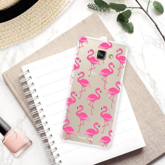 Samsung Samsung Galaxy A3 2016 Handyhülle - Flamingo