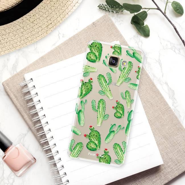 Samsung Samsung Galaxy A3 2016 Handyhülle - Kaktus