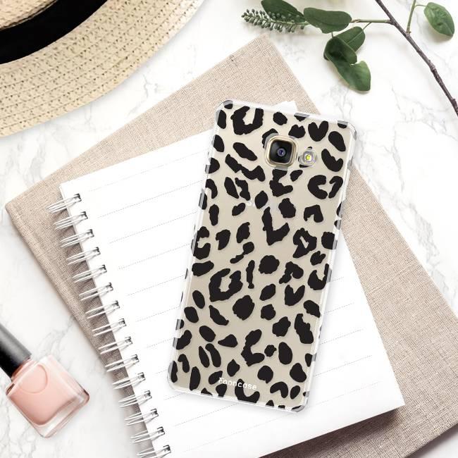 Samsung Samsung Galaxy A3 2017 Handyhülle - Leopard