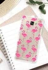 Samsung Samsung Galaxy A5 2016 Handyhülle - Flamingo
