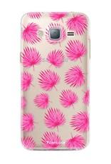 Samsung Samsung Galaxy J3 2016 - Rosa Blätter