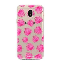 Samsung Samsung Galaxy J3 2017 - Pink leaves