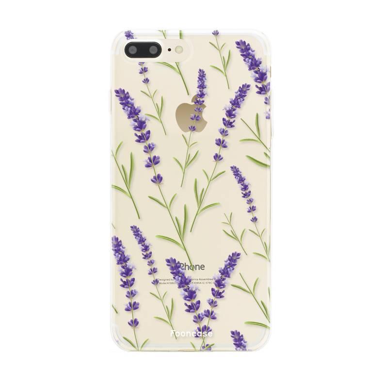 Apple Iphone 7 Plus - Purple Flower