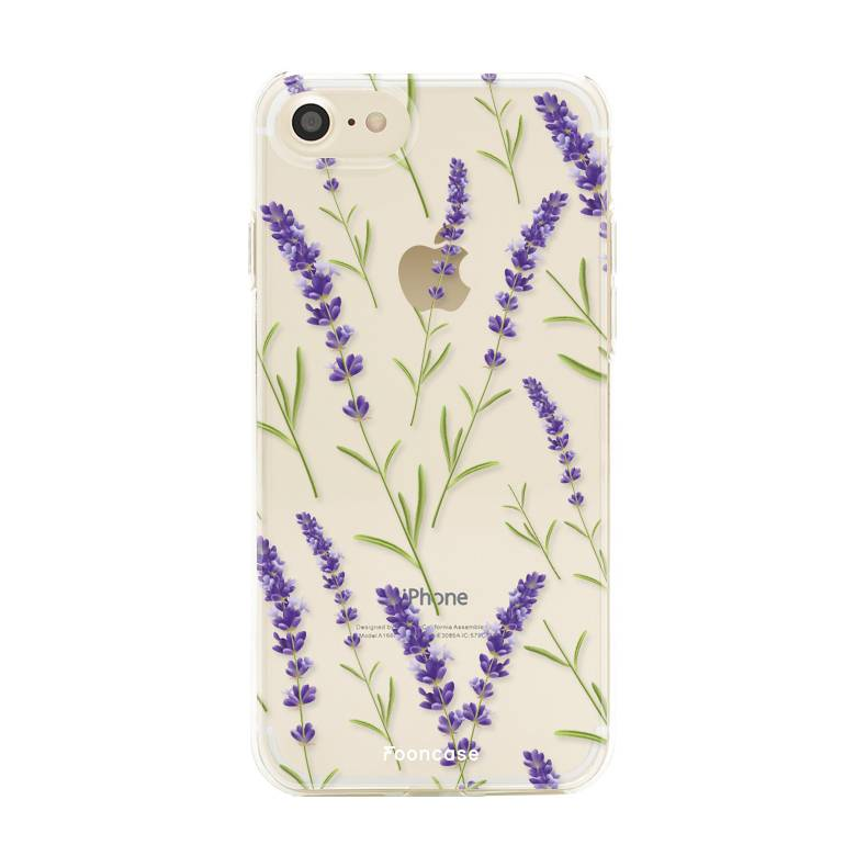 Apple Iphone 7 - Purple Flower
