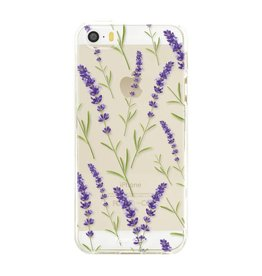 Apple Iphone 5 / 5S - Purple Flower
