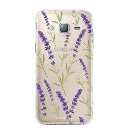 Samsung Samsung Galaxy J3 2016 - Purple Flower