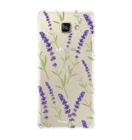 Samsung Samsung Galaxy A3 2017 - Purple Flower