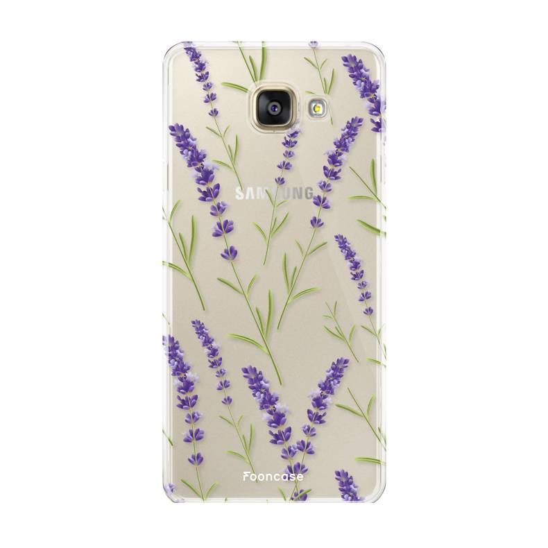Samsung Samsung Galaxy A3 2016 - Purple Flower