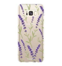Samsung Samsung Galaxy S8 Plus - Purple Flower