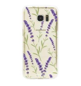 Samsung Samsung Galaxy S7 Edge - Purple Flower