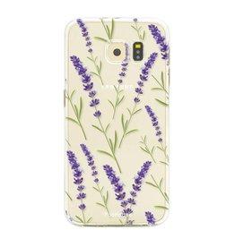 Samsung Samsung Galaxy S6 - Purple Flower