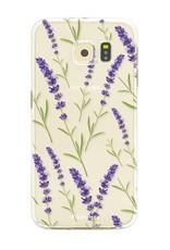 Samsung Samsung Galaxy S6 Edge - Purple Flower