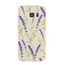 Samsung Samsung Galaxy S7 - Purple Flower
