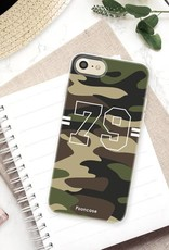 Apple Iphone 8 hoesje - Camouflage