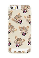 Apple Iphone 5 / 5S Handyhülle - Cheeky Leopard