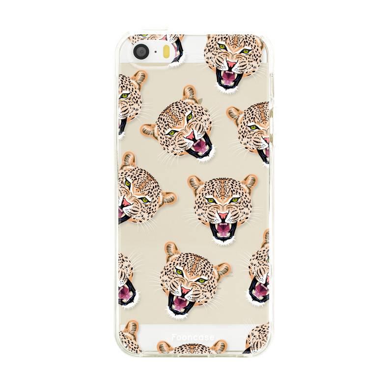 Apple Iphone SE Handyhülle - Cheeky Leopard