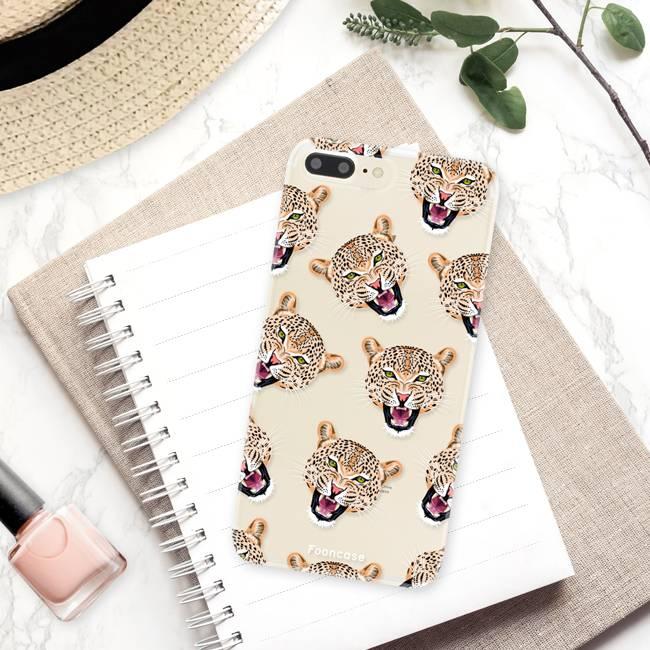 Apple Iphone 7 Plus Handyhülle - Cheeky Leopard