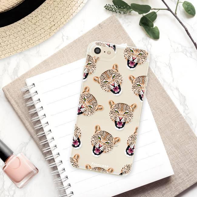 Apple Iphone 8 hoesje - Cheeky Leopard