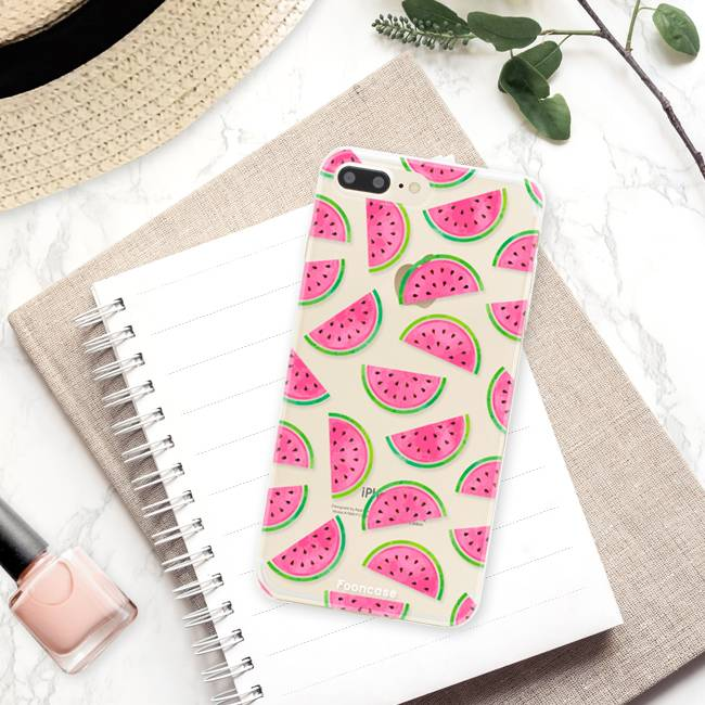 Apple Iphone 8 Plus Handyhülle - Wassermelone