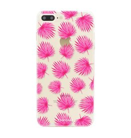 Apple Iphone 8 Plus - Rosa Blätter