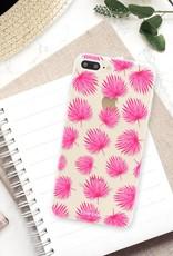 Apple Iphone 8 Plus Handyhülle - Rosa Blätter