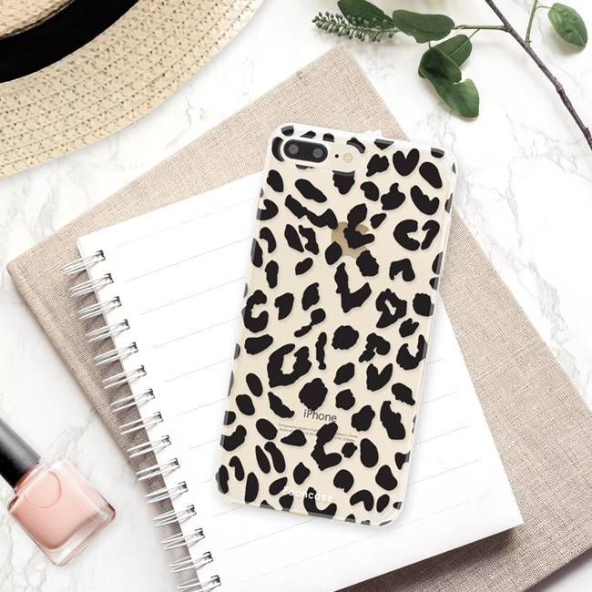 Apple Iphone 8 Plus Handyhülle - Leopard