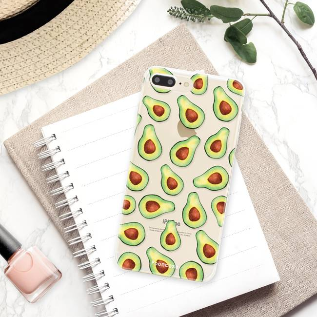 Apple Iphone 8 Plus Handyhülle - Avocado