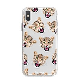 Apple Iphone X - Cheeky Leopard