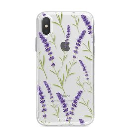 Apple Iphone X - Purple Flower