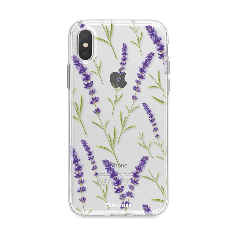 Apple Iphone X - Purple Flower