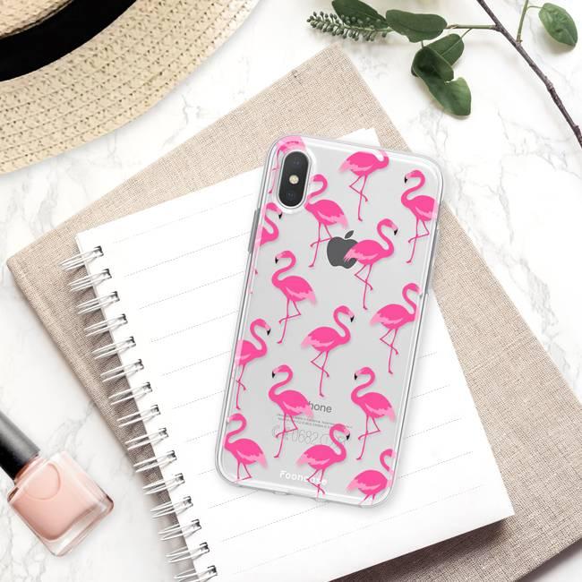 Apple Iphone X Handyhülle - Flamingo