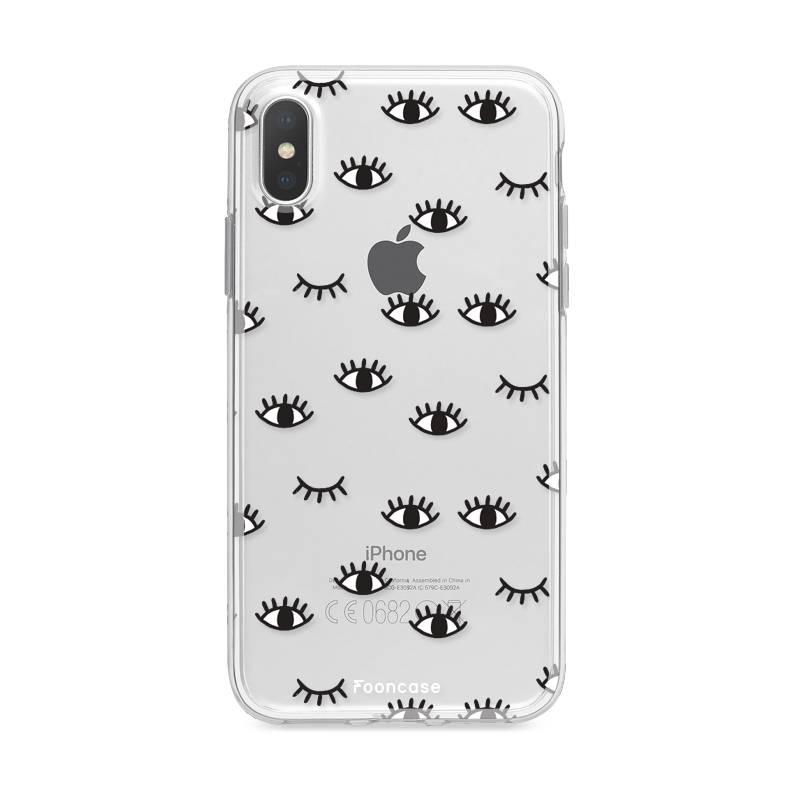 Apple Iphone X Handyhülle - Eyes