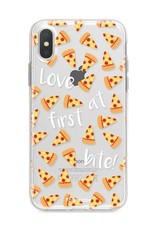 Apple Iphone X Handyhülle - Pizza