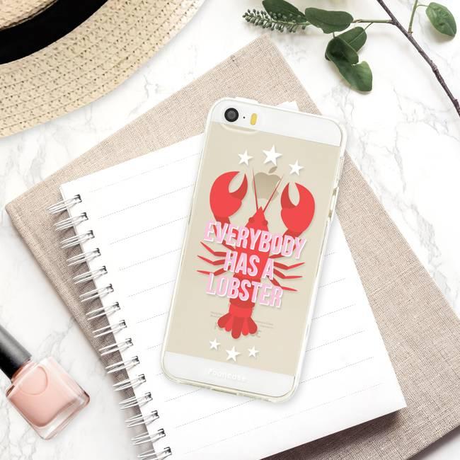 Apple Iphone SE hoesje - Lobster