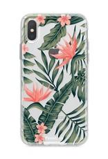 Apple Iphone X hoesje - Tropical Desire