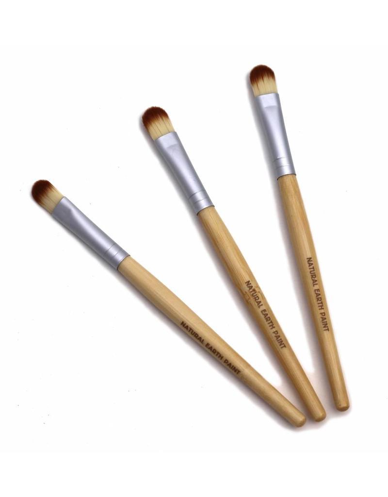 Eco friendly bamboo paint brushes 3 pcs