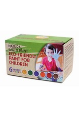 Childrens natural earth paint kit with six colors natural earth childrens earth paint kit sciox Images