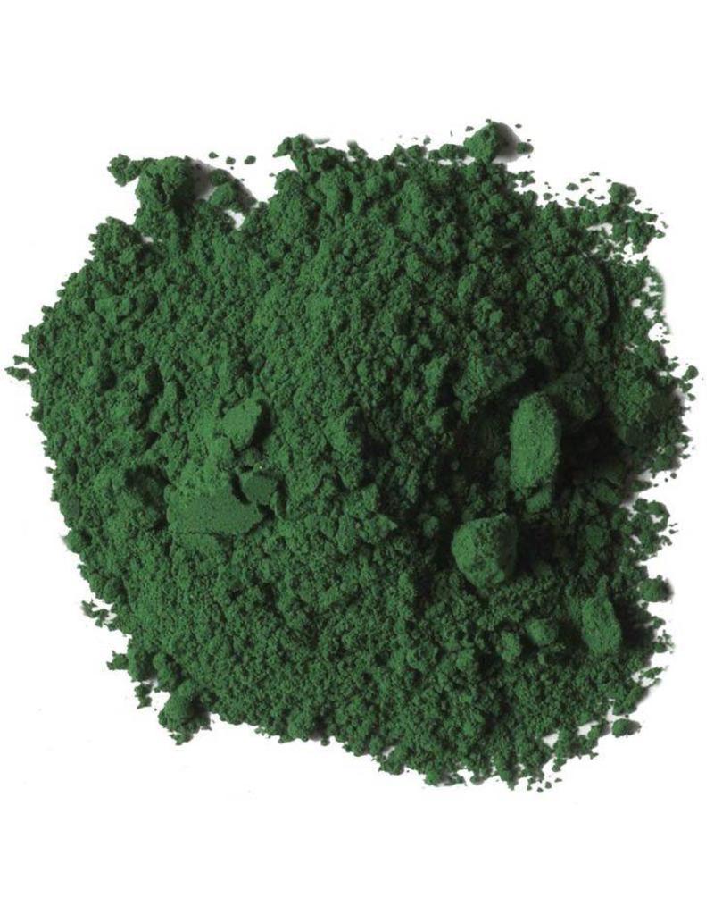 Natural Earth Paint mineraal aarde-pigment Emerald Green voor olieverf om zelf aan te maken