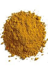 Natural Earth Paint mineraal aarde-pigment Yellow Ocher voor olieverf om zelf aan te maken.