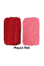 Natural Earth Paint - aarde- pigment Mayan Red voor olieverf