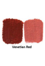 Natural Earth Oil paint made of earth and mineral pigments Venetian Red.