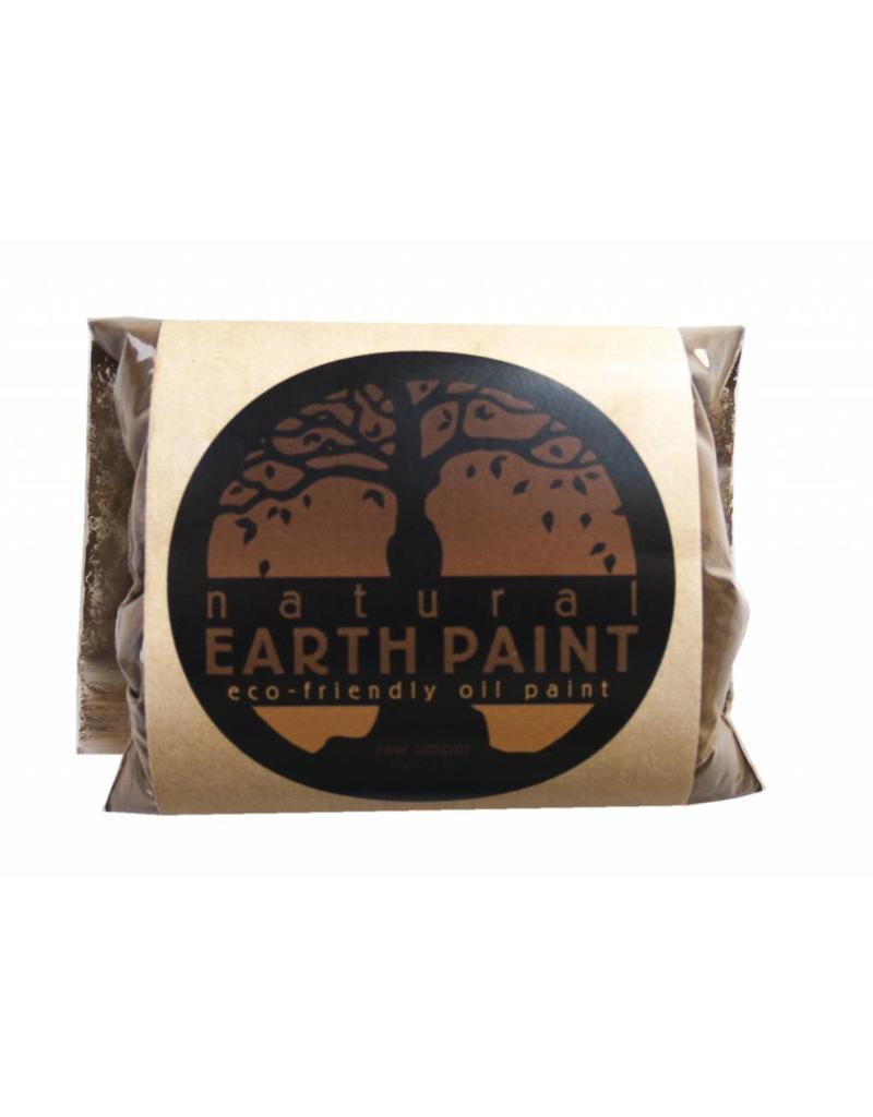 Natural Earth Paint mineraal aarde-pigment Raw Umber voor olieverf om zelf aan te maken