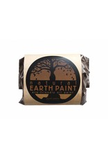 Natural Earth Oil paint made of earth and mineral pigments Burnt Umber.
