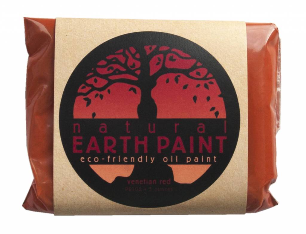 Natural mineral paints: red ocher
