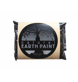 Oil paint pigment Black Ocher