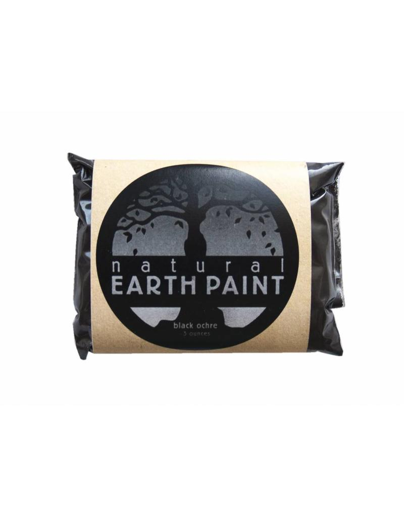 Natural Earth Paint - aarde-pigment Black Ocher voor olieverf