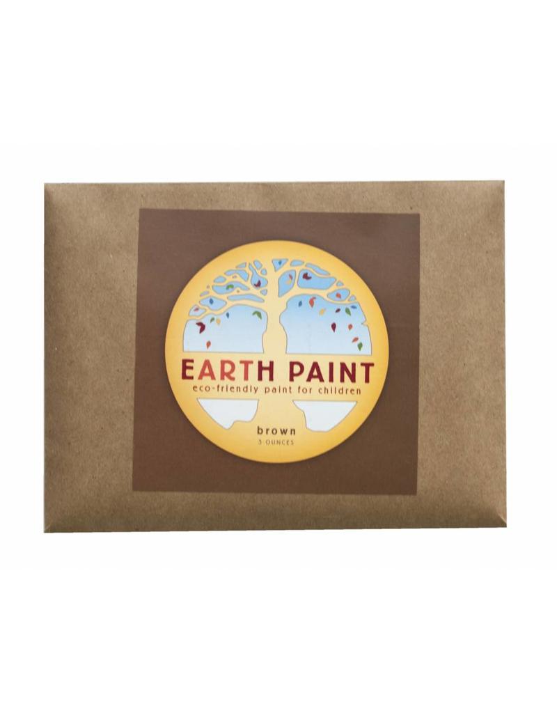 Children's Earth Paint - natuurlijke verf per kleur - bruin