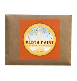 Children's Earth Paint per kleur - oranje