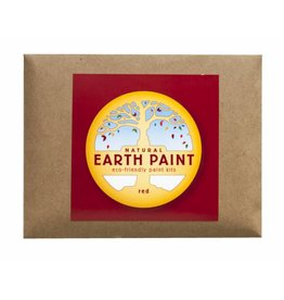Children's Earth Paint per kleur - rood